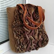 Сумки и аксессуары handmade. Livemaster - original item The Coffee Palette Shopping Bag. Handmade.