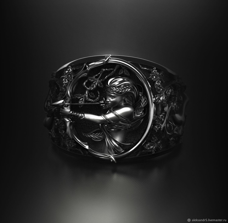 Ring-signet: Diana the huntress, Signet Ring, Tolyatti,  Фото №1