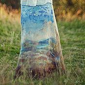 Одежда ручной работы. Ярмарка Мастеров - ручная работа Юбка из войлока 1307. Handmade.