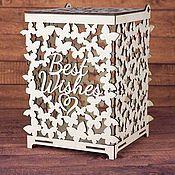 Свадебный салон ручной работы. Ярмарка Мастеров - ручная работа Свадебная казна деревянная. Handmade.