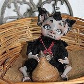 Куклы и игрушки ручной работы. Ярмарка Мастеров - ручная работа Летучая мышка Кики. Handmade.