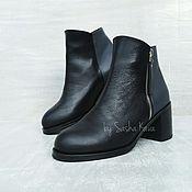 Обувь ручной работы handmade. Livemaster - original item Ankle boots genuine leather. Handmade.