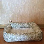 Для домашних животных, ручной работы. Ярмарка Мастеров - ручная работа Лежанка. Handmade.