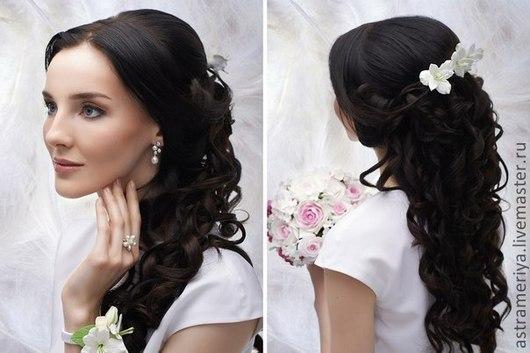 Свадебные украшения ручной работы. Ярмарка Мастеров - ручная работа. Купить Свадебное украшение для волос невесты.Свадебный цветок. Handmade.