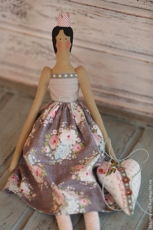 Куклы Тильды ручной работы. Ярмарка Мастеров - ручная работа. Купить Принцесса Тильда (на выбор). Handmade. Кремовый
