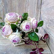 """Цветы и флористика handmade. Livemaster - original item Роза кустовая """"Флирт"""". Handmade."""
