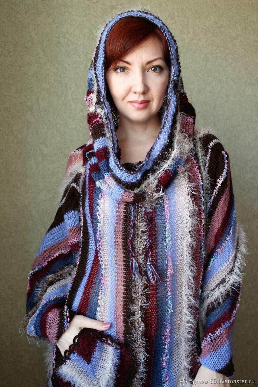 Tunic dress with high collar, 'good Luck next', Dresses, Astrakhan,  Фото №1