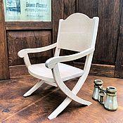 Куклы и игрушки handmade. Livemaster - original item Doll chair 1/4 scale blank. Handmade.