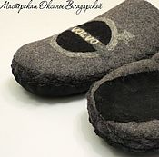 Slippers handmade. Livemaster - original item Mens Slippers
