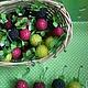 Материалы для флористики ручной работы. Ярмарка Мастеров - ручная работа. Купить Искусственные фрукты - земляника. Handmade. Бордовый, ягода