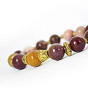 Украшения handmade. Livemaster - original item Bracelet, Australian Jasper, Mukai. Handmade.