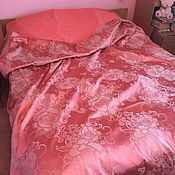 """Комплекты постельного белья ручной работы. Ярмарка Мастеров - ручная работа Комплект """"Вдохновение"""", постельное из смесового сатин-жаккарда. Handmade."""