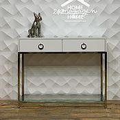 Для дома и интерьера handmade. Livemaster - original item Lady CHROME console. Handmade.