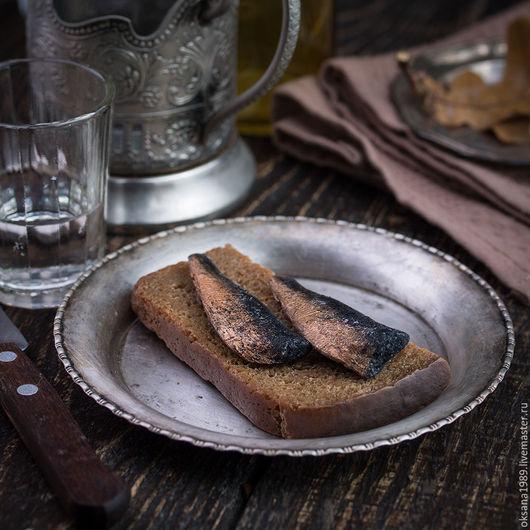 """Мыло ручной работы. Ярмарка Мастеров - ручная работа. Купить Мыло """"Бутерброд со шпротами"""". Handmade. Вкусное мыло, бутерброд"""