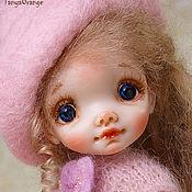 Куклы и игрушки handmade. Livemaster - original item Art doll polymer clay MIA 18cm. Handmade.