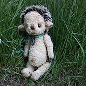 Куклы и игрушки ручной работы. Ярмарка Мастеров - ручная работа Ежик тедди. Handmade.