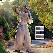 Одежда ручной работы. Ярмарка Мастеров - ручная работа Штаны-алладины - 6 расцветок. Handmade.