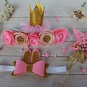 Работы для детей, ручной работы. Ярмарка Мастеров - ручная работа Набор аксессуаров для маленькой принцессы. Handmade.