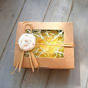 Косметика ручной работы. Ярмарка Мастеров - ручная работа Мыло в подарочной упаковке. Handmade.