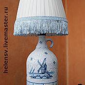 """Для дома и интерьера ручной работы. Ярмарка Мастеров - ручная работа Лампа """"Голландская"""". Handmade."""