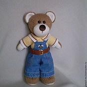 Куклы и игрушки ручной работы. Ярмарка Мастеров - ручная работа Вязаный медвежонок. Handmade.