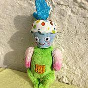 Куклы и игрушки ручной работы. Ярмарка Мастеров - ручная работа Малыши Цветик , Сердечный Друг и Кексуля. Handmade.