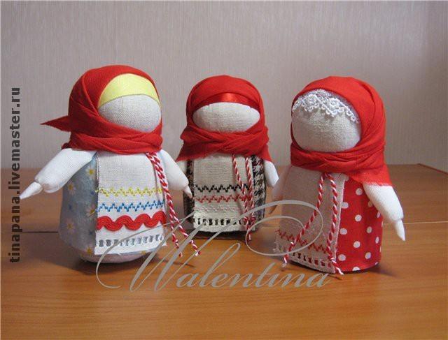 Куклы талисманы своими руками фото 102