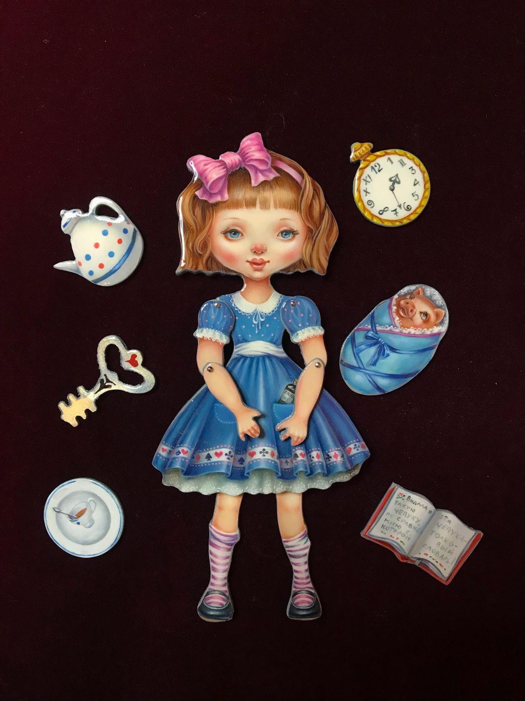 Шарнирная кукла «Алиса в стране чудес», Куклы, Дзержинск, Фото №1