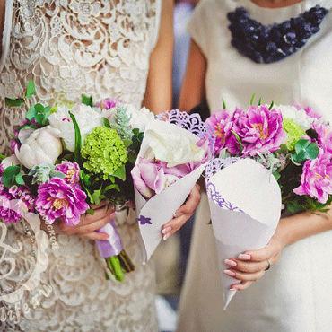 Свадебный салон ручной работы. Ярмарка Мастеров - ручная работа Оформление свадьбы в лавандовых тонах. Handmade.