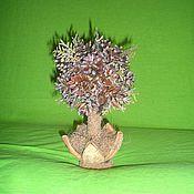 Цветы и флористика ручной работы. Ярмарка Мастеров - ручная работа Топиарий из шишек. Handmade.