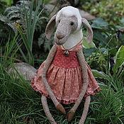 """Куклы и игрушки ручной работы. Ярмарка Мастеров - ручная работа Овечка """"Аглая"""", валяная из шерсти. Handmade."""