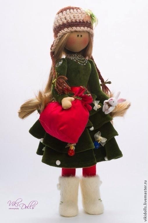 Кукла-Тильда ЕЛКА ед. Экз, Сувениры, Москва, Фото №1