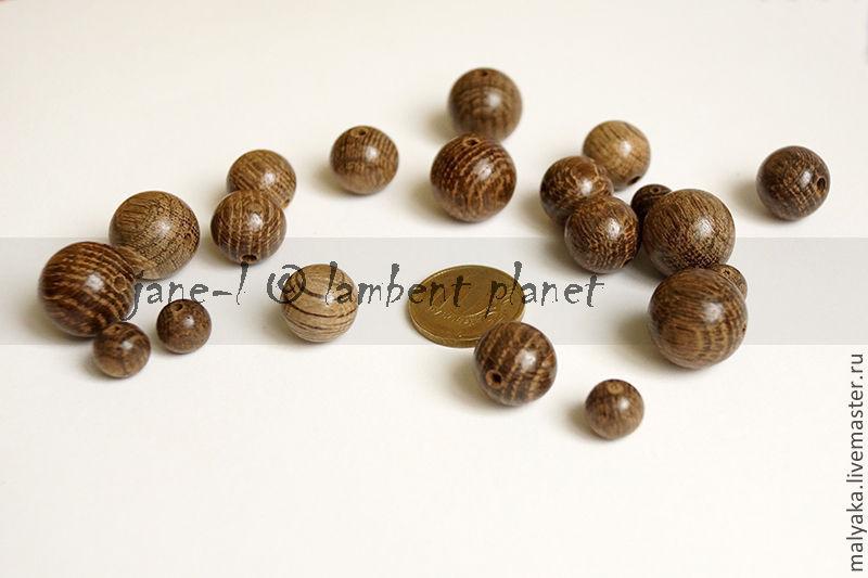 Экобусины деревянные Мореный дуб. Натуральная древесина  дуба без покрытия, без лака и краски.