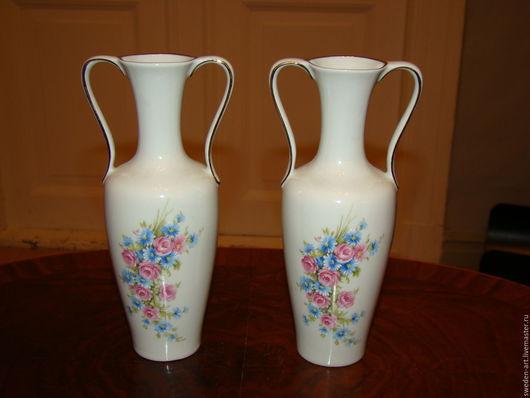 Винтажные сувениры. Ярмарка Мастеров - ручная работа. Купить Пара фарфоровых вазочек   Bavaria. Handmade. Фарфор, фарфор из европы