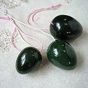 Фен-шуй и эзотерика handmade. Livemaster - original item Eggs of jade. Handmade.