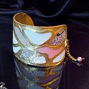 Украшения ручной работы. Ярмарка Мастеров - ручная работа Браслет кожаный из комплекта Giraffe. Handmade.