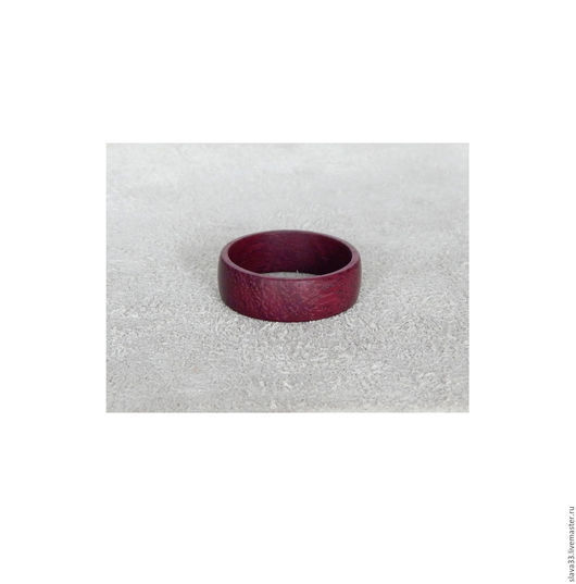 Кольца ручной работы. Ярмарка Мастеров - ручная работа. Купить Колечко из амаранта.. Handmade. Бордовый, кольцо из амаранта, кольцо подарок