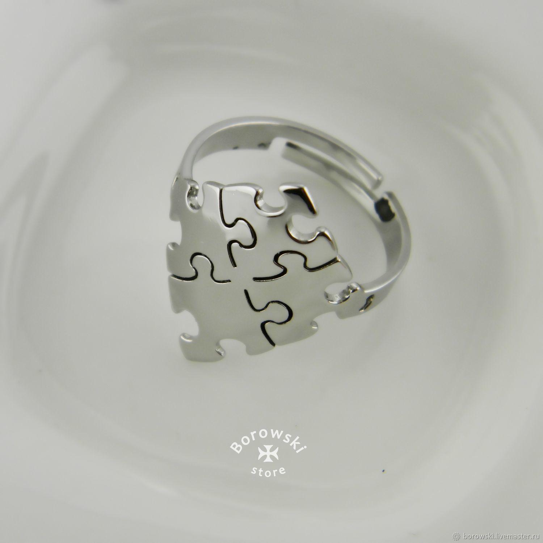 Ring ' Puzzle', Rings, St. Petersburg,  Фото №1