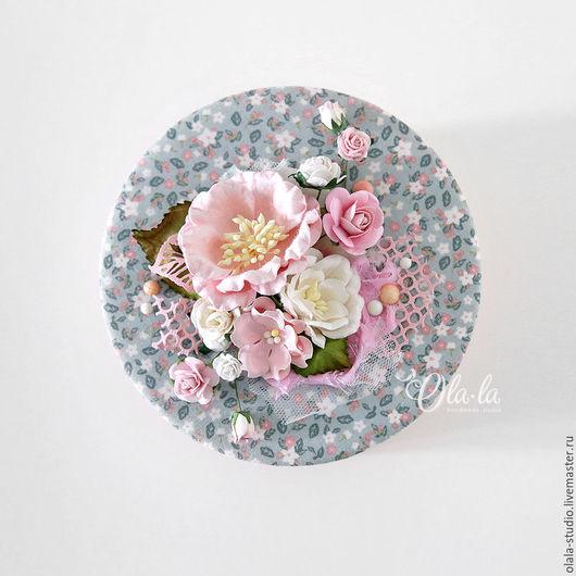 """Шкатулки ручной работы. Ярмарка Мастеров - ручная работа. Купить Шкатулка """"Чайная роза"""". Handmade. Бледно-розовый, вырубка"""