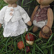 Куклы и игрушки ручной работы. Ярмарка Мастеров - ручная работа интерьерные игрушки семейка Медведевых.. Handmade.