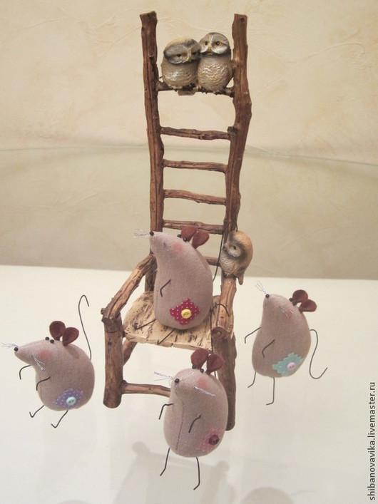 Игрушки животные, ручной работы. Мышонок Пик. Автор Шибанова Виктория. Дизайн-студия авторских игрушек `SamiSrukami`. Ярмарка мастеров.