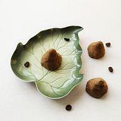 """Косметика ручной работы. Ярмарка Мастеров - ручная работа """"Шоколадный трюфель"""" скраб для тела. Handmade."""