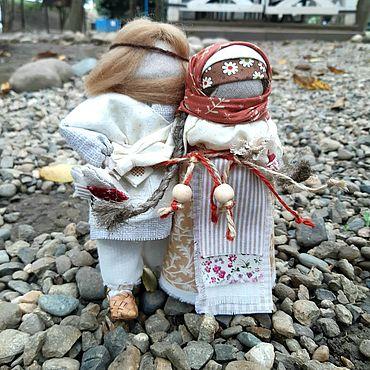 Куклы и игрушки ручной работы. Ярмарка Мастеров - ручная работа Куклы: Неразлучниики. Handmade.
