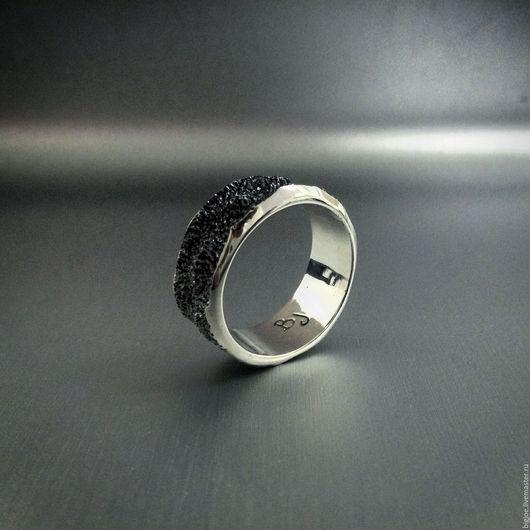 Кольца ручной работы. Заказать кольцо из серебра. Авторское кольцо. Необычное кольцо. BigJoe. Ярмарка Мастеров. Купить кольцо дюна, серебро 925 пробы