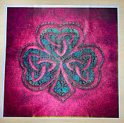 Фен-шуй и эзотерика handmade. Livemaster - original item Altar cloth CLOVER good LUCK. Handmade.