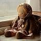 Вальдорфская игрушка ручной работы. Заказать Зосенька, вальдорфская кукла (30см). Калина Ерофеева куклы для детей. Ярмарка Мастеров.