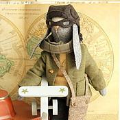 Куклы и игрушки ручной работы. Ярмарка Мастеров - ручная работа Авиатор.. Handmade.