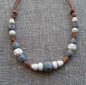 Русский стиль handmade. Livemaster - original item Ceramic beads