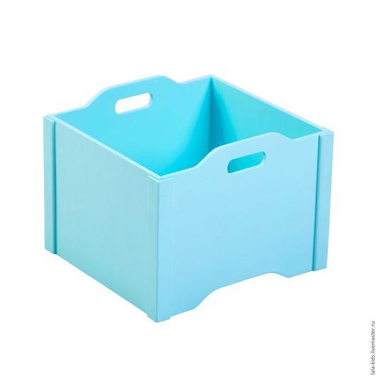 Ящик для хранения игрушек, идеальный способ организации хранения в детской комнате. Стильные и красивые ящики украсят интерьер детской комнаты.