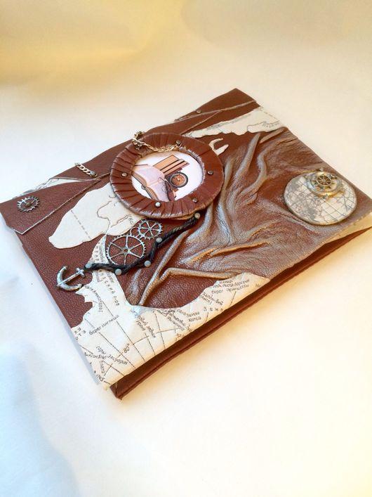 """Блокноты ручной работы. Ярмарка Мастеров - ручная работа. Купить Тетрадь  """"Капитана"""" для записей. Handmade. Тетрадь ручной работы, для капитана"""